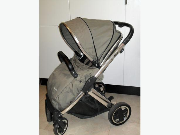 OYSTER 2 with a khaki colour pack & CYBEX CAR SEAT,ETC