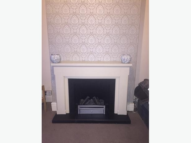 full surround electric fireplace