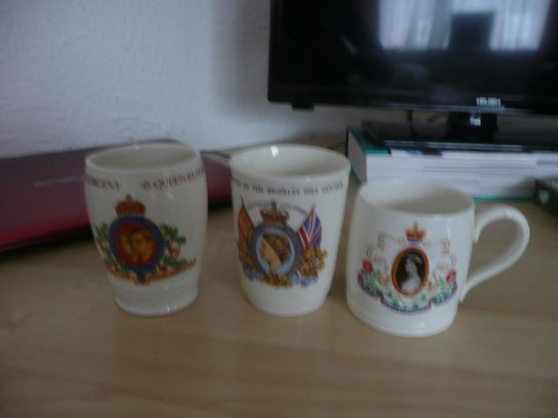 coronation mugs