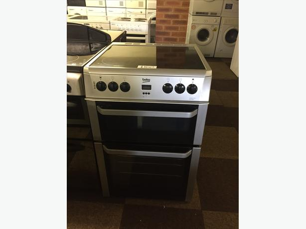 LOVELY SILVER LATEST 60 CM BEKO ELECTRIC COOKER WITH GUARANTEE