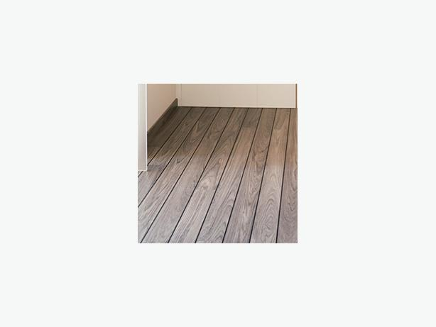 Quick-Step Lagune Grey teak, shipdeck Laminate Flooring