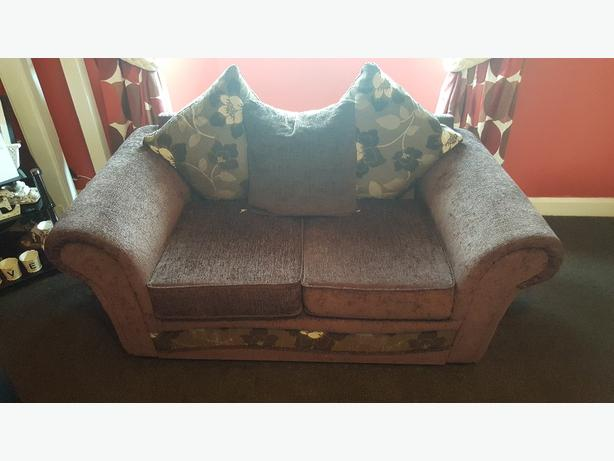 two-seater sofa x2