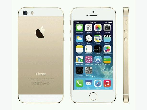 I phone SE whit and gold 64gb
