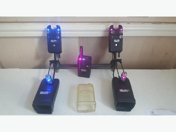 delkim txi plus alarms and receiver