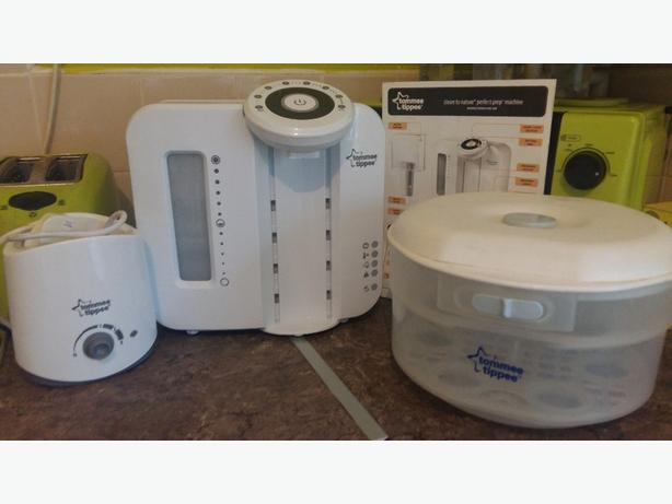Perfect Prep Machine, Microwave steraliser, Bottle Warmer