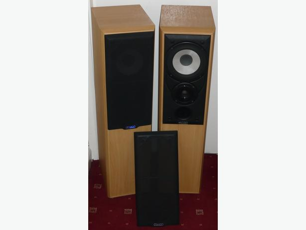 Mission M702E Main Stereo Speakers in Beech