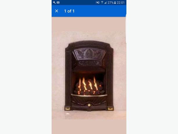 gas fire (cast iron)