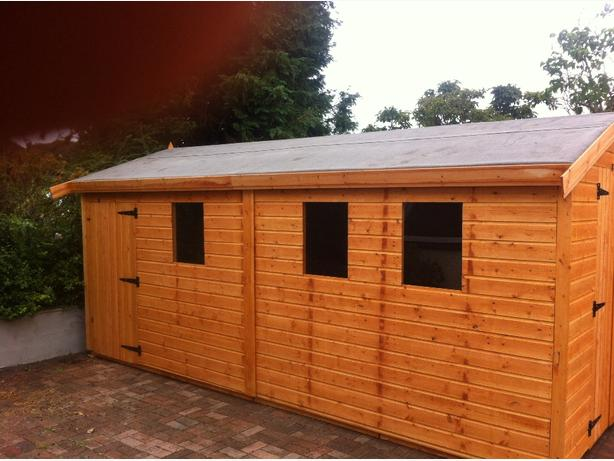 sheds and summer houses made to order