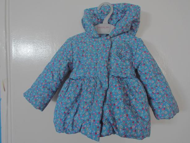 Polka dot baby jacket