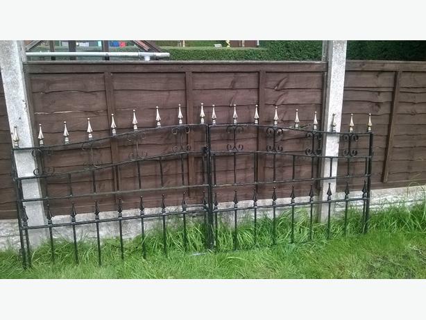 Rought Iron Driveway Gates