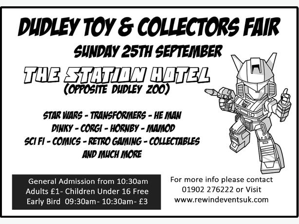dudley toy fair this sunday