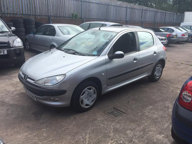 Peugeot 206 1.4 GLX (MOT Mar 17, only 82k)