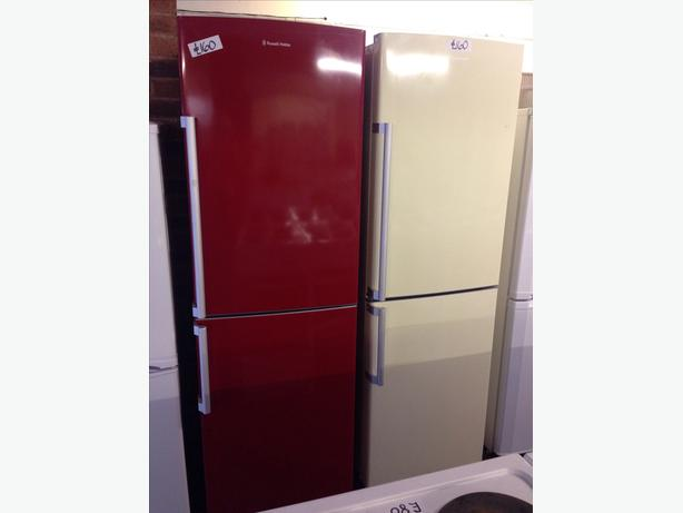 RUSSELL HOBBS FRIDGE FREEZER (RED & CREAM AVAILABLE) @ *PLANET APPLIANCE