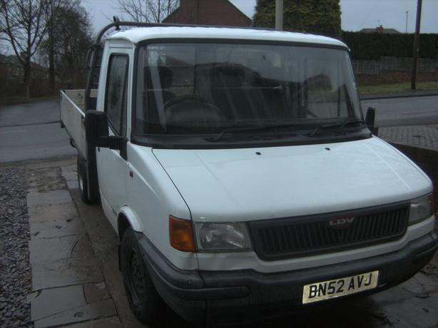 LDV pick up truck, perfect runner. Needs MOT, spares or repair