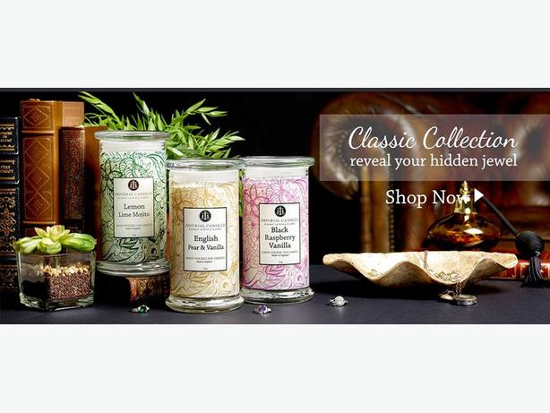Imperial Candles and bath bombs with JEWELLERY inside, Perfect gift ideas!