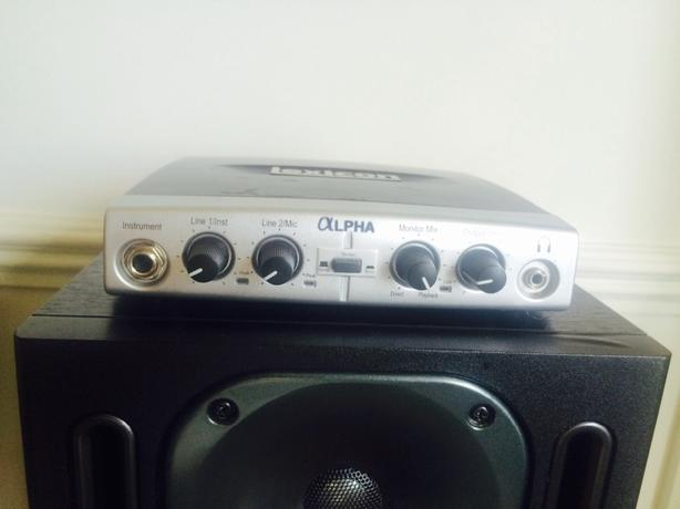 lexicon alpha usb audio interface DAW
