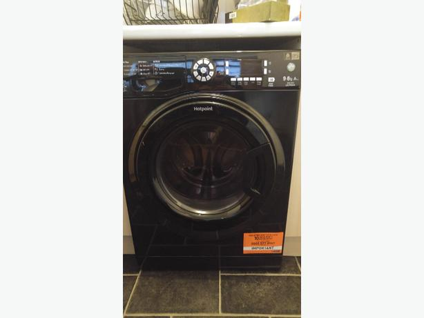 hotpoint washer dryer 4month old