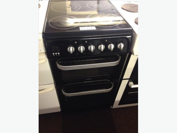 HOTPOINT ULTIMA 50CM DOUBLE OVEN ELECTRIC COOKER2