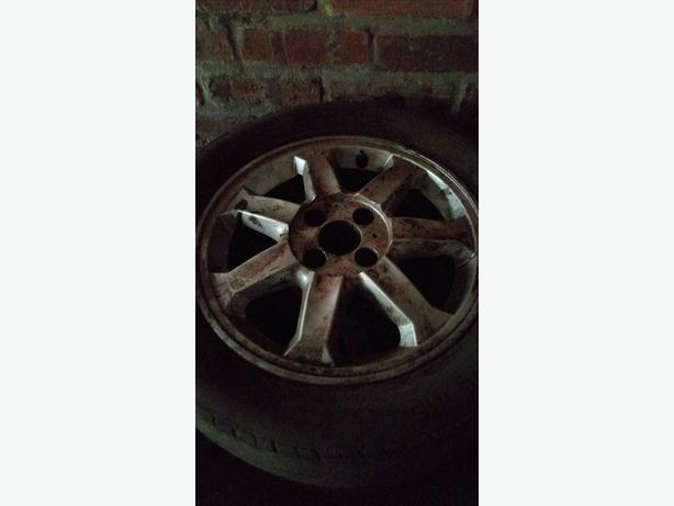 set of renault megane 2 alloy wheels