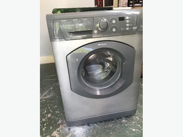 hotpoint silver aquarius 6kg washer