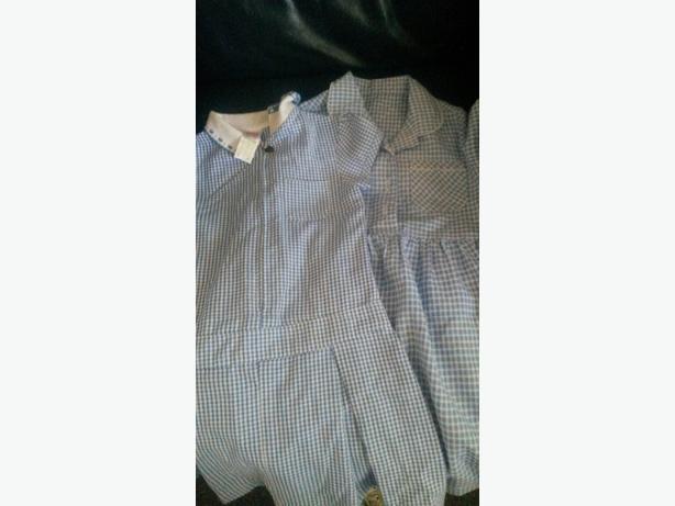 two girls school dresses age 4-5