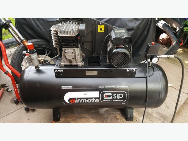 SIP 3hp 150L Air Compressor