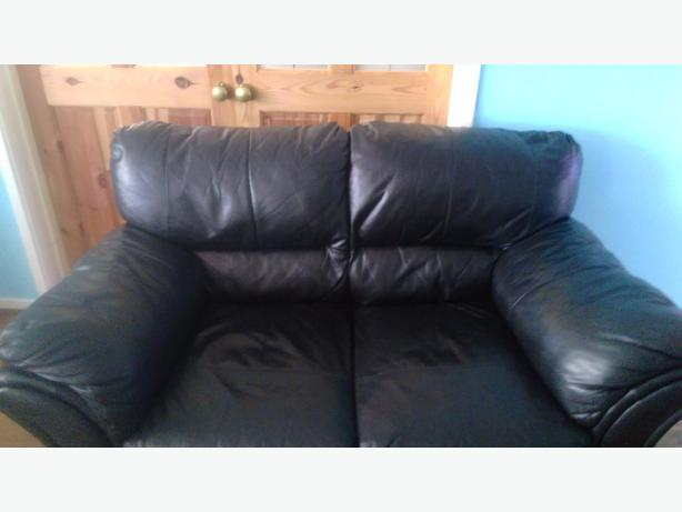 2 leather sofa (2seaters)