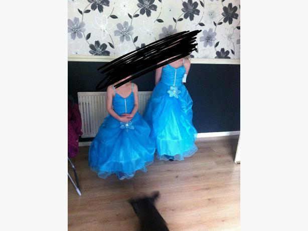 girls prom/bridesmaid dress 12-13years