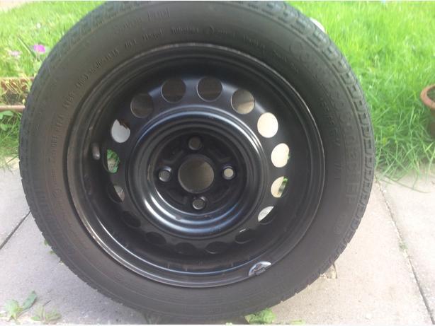 Vauxhall wheel and tyre.J