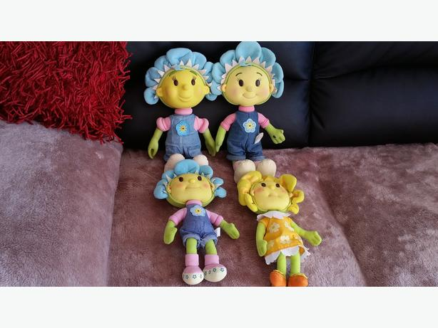 4 FIFI TOYS 2 MUSICAL ONES AND 2 NORMAL