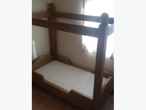 Childrens Four Poster Bed - Cot size and Mattress