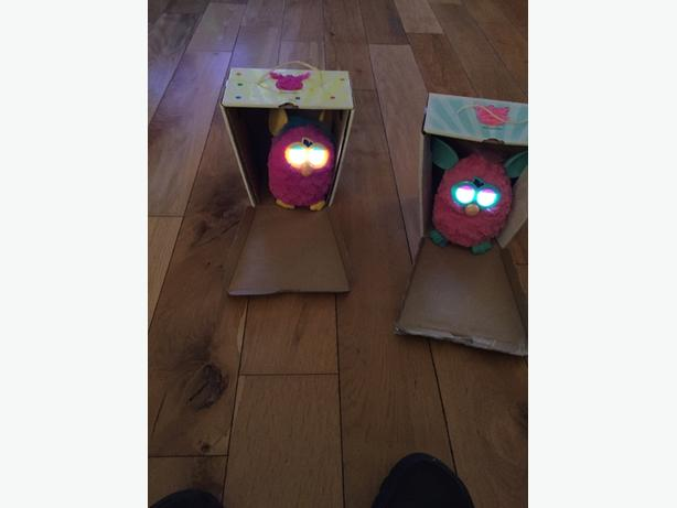 2 x furbys 20 pounds each ono