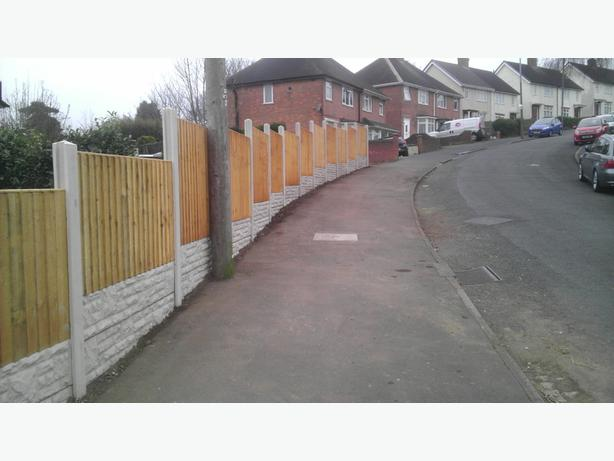 £70 per bay FENCE  (NO DEPOSIT TAKEN)