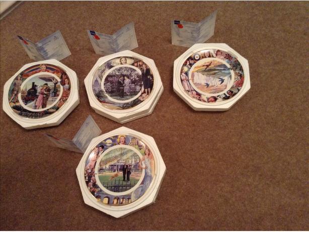 Vera Lynn - Set of 4 plates