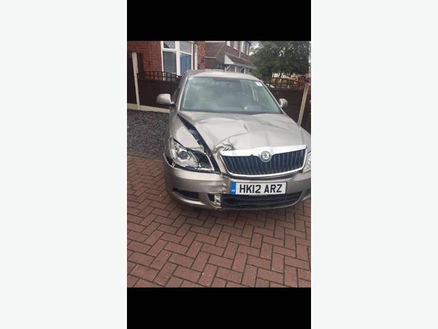 skoda octavia 1.6 tdi auto cat c damage