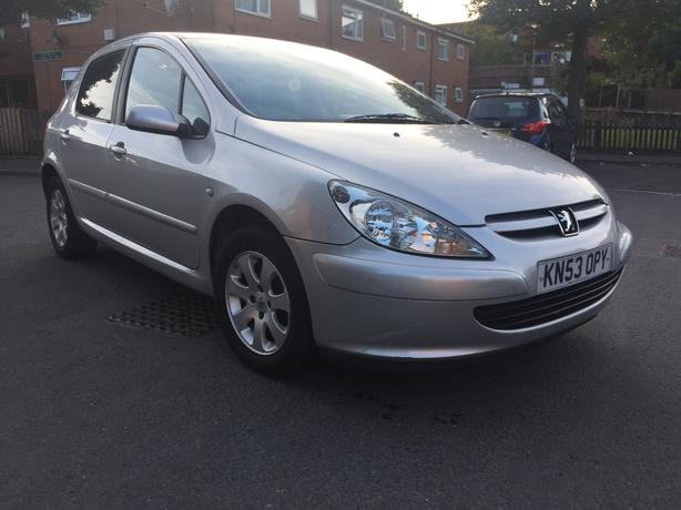 2003 Peugeot 307 1.4 hid 5 door £30 year tax