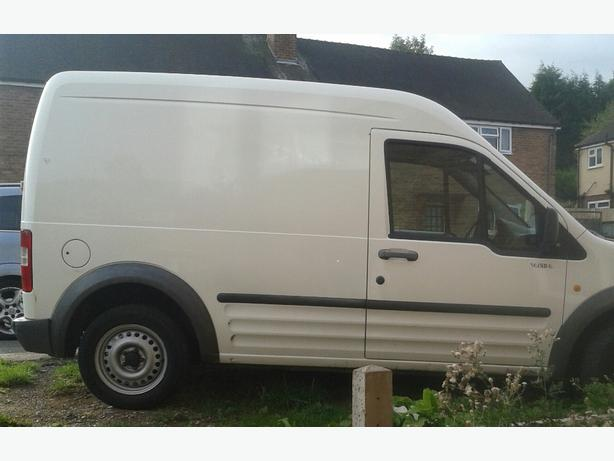 54 plate ford connect transit