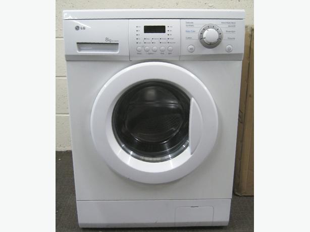 LG Washing Machine, Large 8kg Capacity, 1200 Spin, 6 Month Warranty