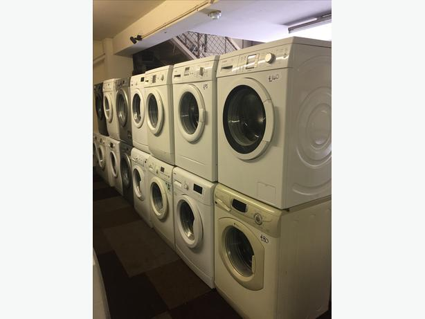 HUNDREDS OF WASHING MACHINES STARTING FROM £80 WITH GUARANTEE