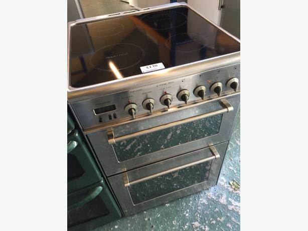 ☀️lovley silver 60cm cooker free delivery and fitting