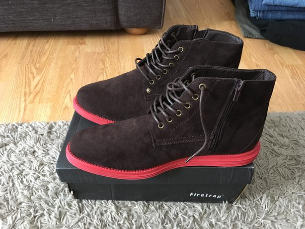 New without tags firetrap men's boots