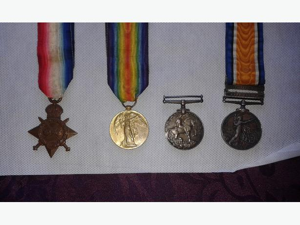 OLD WAR MEDALS