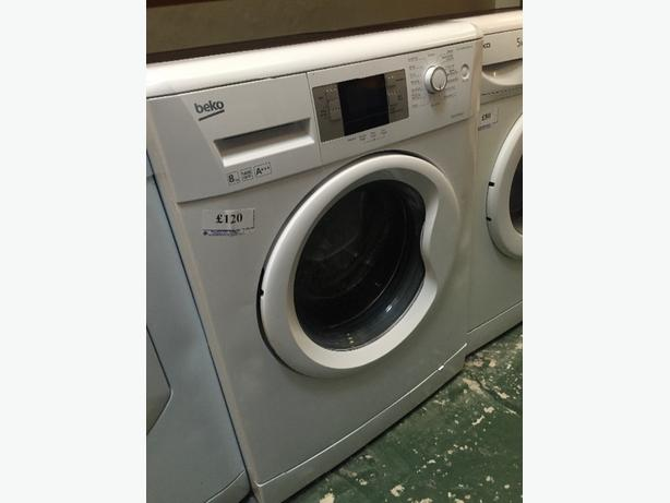beko 8kg washer free delivery and fitting