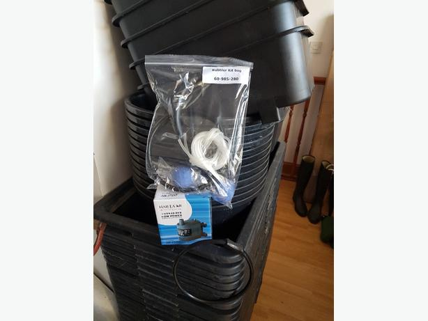 hydroponics bubbler complete system