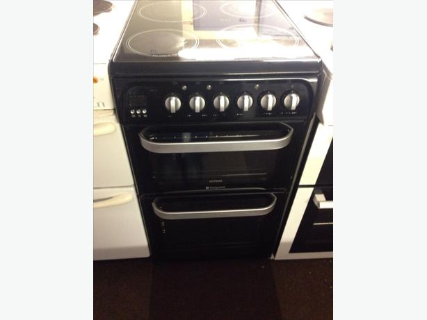 HOTPOINT ULTIMA DOUBLE OVEN ELECTRIC COOKER0
