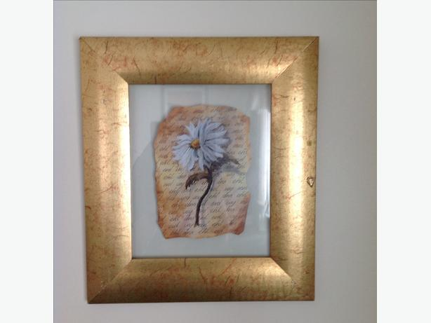 gold framed with glass insert pictures £5 each