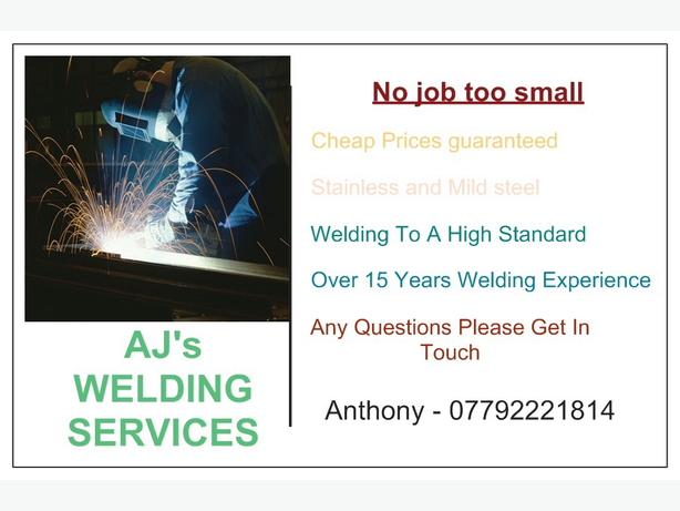 FOR TRADE: AJ mobile welding