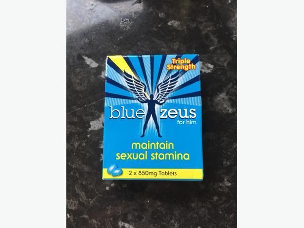 Blue Zeus pills