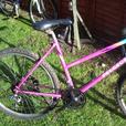 womans or teenage mountain bike