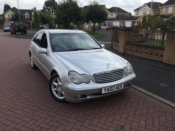 2002 Mercedes-Benz C Class c270 cdi 2.7 Elegance Auto Full Leather Long Mot